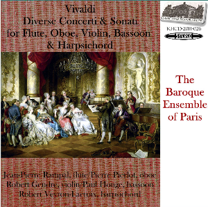 vivaldi: diverse concerti & sonati - baroque ensemble of paris