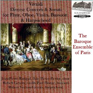 vivaldi: diverse concerti & sonati - baroque ensemble of paris
