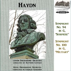 haydn: symphonies nos. 94/100 - lpo/leppard; rpo/gerhardt