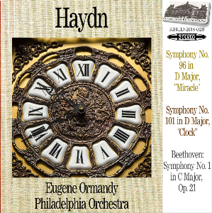 haydn: symphonies nos. 96/101 - philadelphia orchestra/eugene ormandy