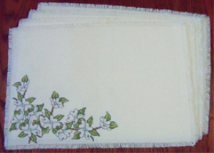 dogwood placemats