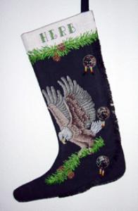 eagle moccasin stocking