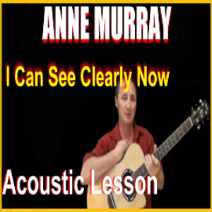 learn to play i can see clearly now by anne murray