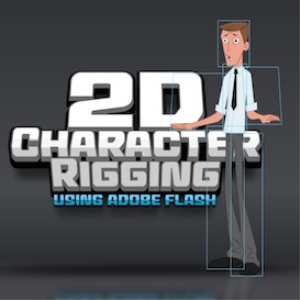 2d character rigging with adobe flash