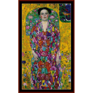 eugenia madavesi - klimt cross stitch pattern by cross stitch collectibles