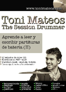 the session drummer. leccion 88. aprende a leer y escribir partituras de bateria (ii) sd