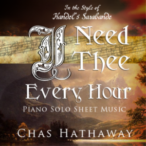 i need thee every hour sheet music