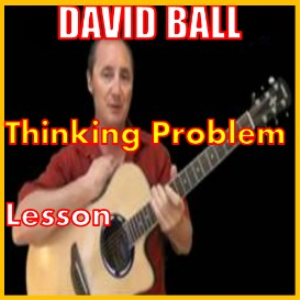 learn to play thinking problem in g by david ball