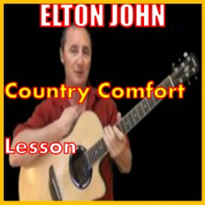 learn to play country comfort by elton john