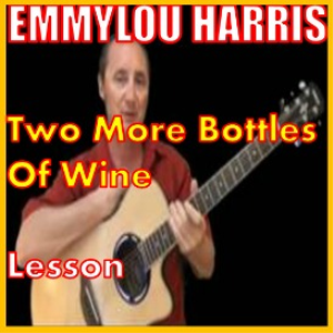 learn to play two more bottles of wine by emmylou harris