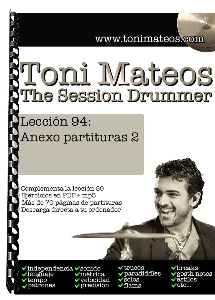 the session drummer. leccion 94. anexo partituras 2