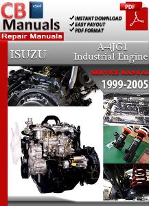 Isuzu Industrial Diesel Engine A-4JG1 1999-2005 Service Repair Manual | eBooks | Automotive
