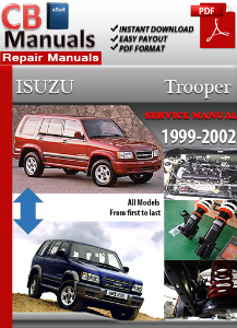isuzu trooper 1999-2002 service repair manual