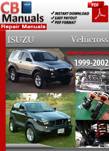 isuzu vehicross 1999-2002 service repair manual