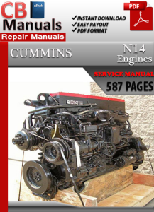 Cummins N14 Engine Service Repair Manual | eBooks | Automotive