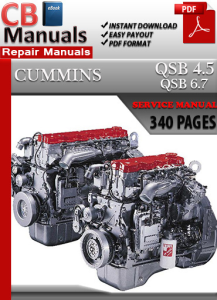 cummins qsb 6.7 engine service repair manual