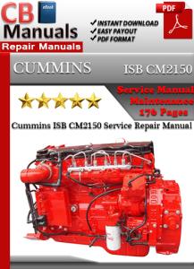 cummins isb cm2150 service repair manual