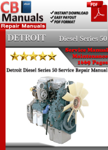 detroit diesel series 50 service repair manual