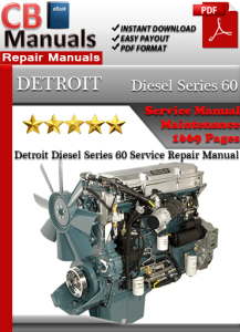 detroit diesel series 60 service repair manual