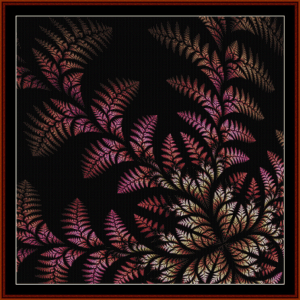 Fractal 447 cross stitch pattern by Cross Stitch Collectibles | Crafting | Cross-Stitch | Wall Hangings