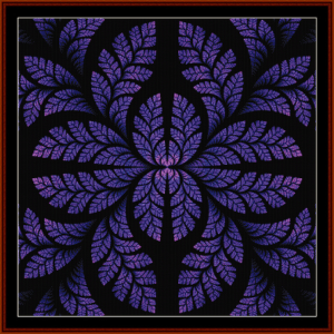Fractal 449 cross stitch pattern by Cross Stitch Collectibles | Crafting | Cross-Stitch | Wall Hangings