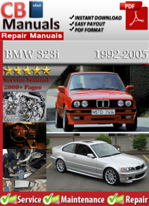 bmw 323i 1992-2005 service repair manual
