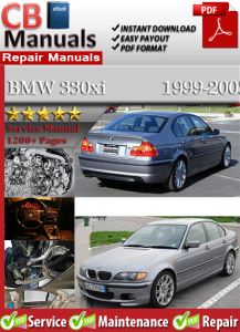 bmw 330xi 1999-2005 service repair manual