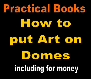 how to put art on domes