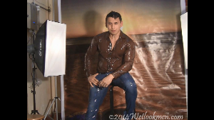 David Shiny Shirt Photoshoot | Movies and Videos | Miscellaneous
