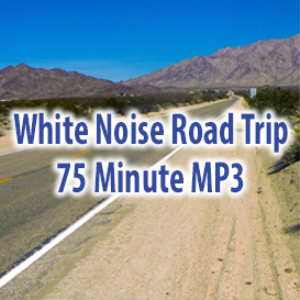 white noise road trip (75 minutes)