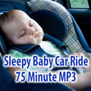 sleepy baby car ride mp3 75 minutes