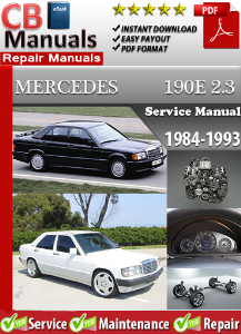 mercedes 190 e 2.3 1984-1993 service repair manual