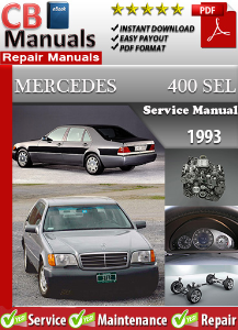 Mercedes 400SEL 1993 Service Repair Manual | eBooks | Automotive