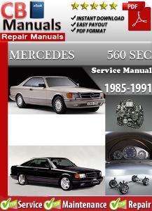 Mercedes 560SEC 1985-1991 Service Repair Manual | eBooks | Automotive