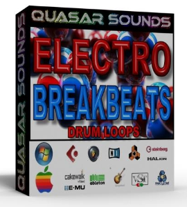 Electro Breakbeats Loops 130 Bpm   +  Wave / Midi + | Music | Electronica