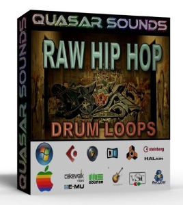 raw hip hop drum loops 80 bpm + wave / midi +