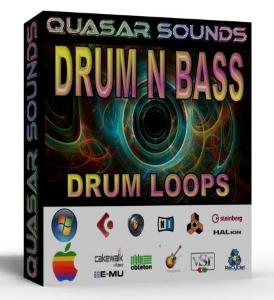 Drum N Bass Drum Loops Wave / Midi | Music | Soundbanks
