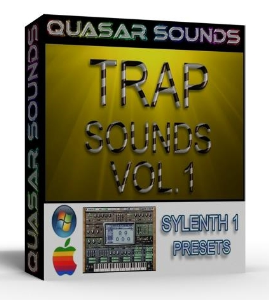TRAP SOUNDS Vol 1 sylenth1 presets | Software | Audio and Video