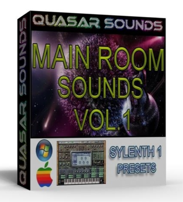 First Additional product image for - MAIN ROOM CLUB HOUSE SOUNDS VOL.1 sylenth1 presets
