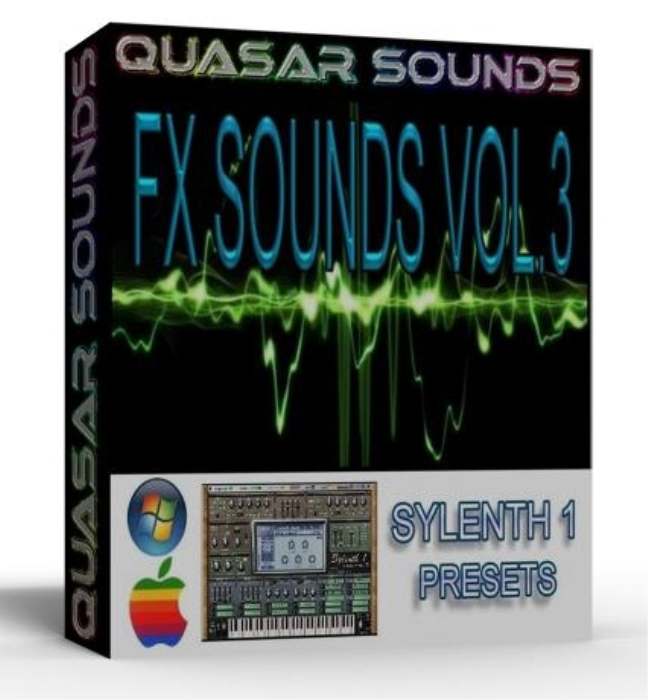 First Additional product image for - FX SOUNDS Vol.3 sylenth1 presets vsti sound bank