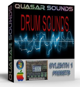 drum sounds for sylenth1 kicks snare hats toms presets