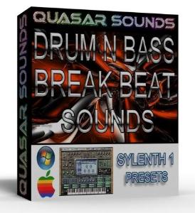 drum n bass – dub step – breaks sylenth1 vsti presets