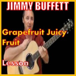 learn to play grapefruit juicy fruit by jimmy buffett