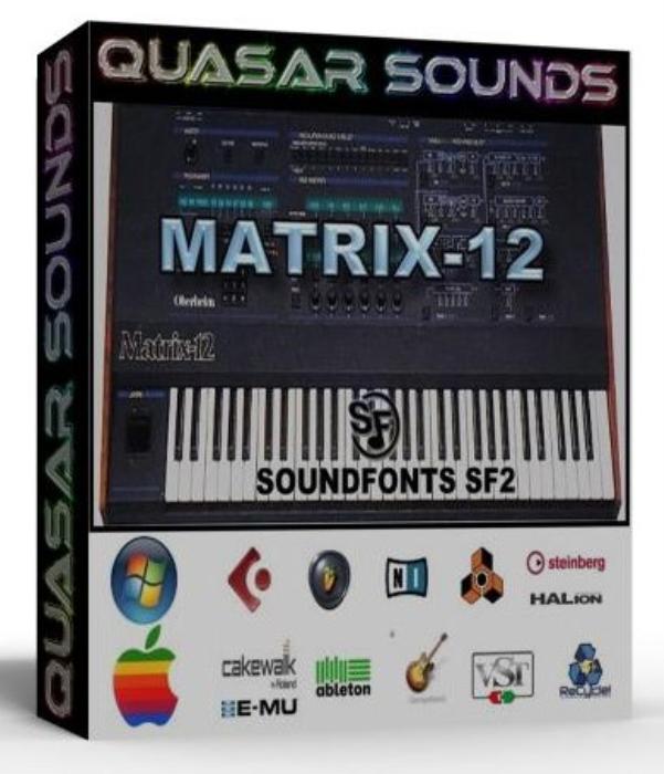First Additional product image for - Oberheim Matrix 12 Samples Wave Kontakt Reason Logic Halion