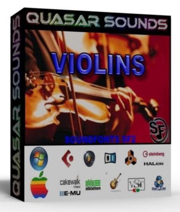 First Additional product image for - Violins Instrument Samples – Wave Kontakt Reason Logic