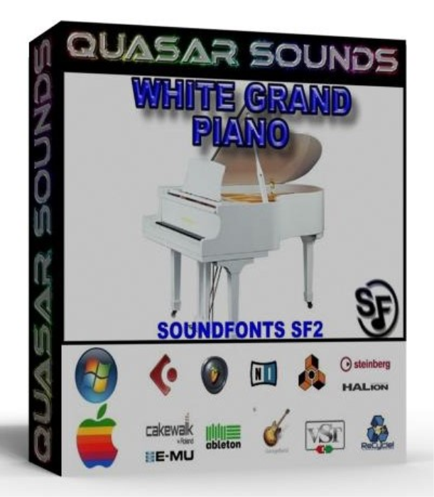 First Additional product image for - White Grand Piano Samples – Wave Kontakt Reason Logic