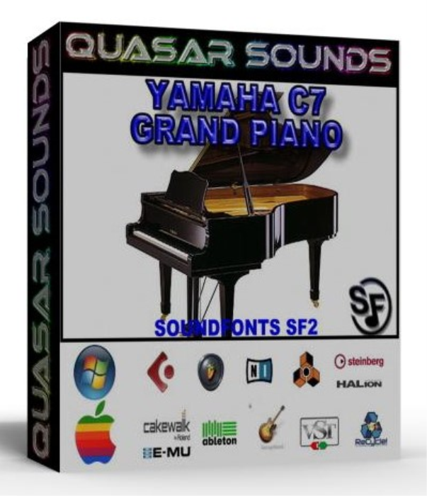 First Additional product image for - Yamaha C7 Grand Piano – Wave Kontakt Reason Logic