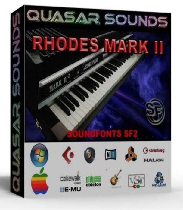 First Additional product image for - Fender Rhodes Mkii – Wav Kontakt Reason Logic Halion