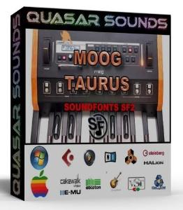 moog taurus samples wave kontakt reason logic halion