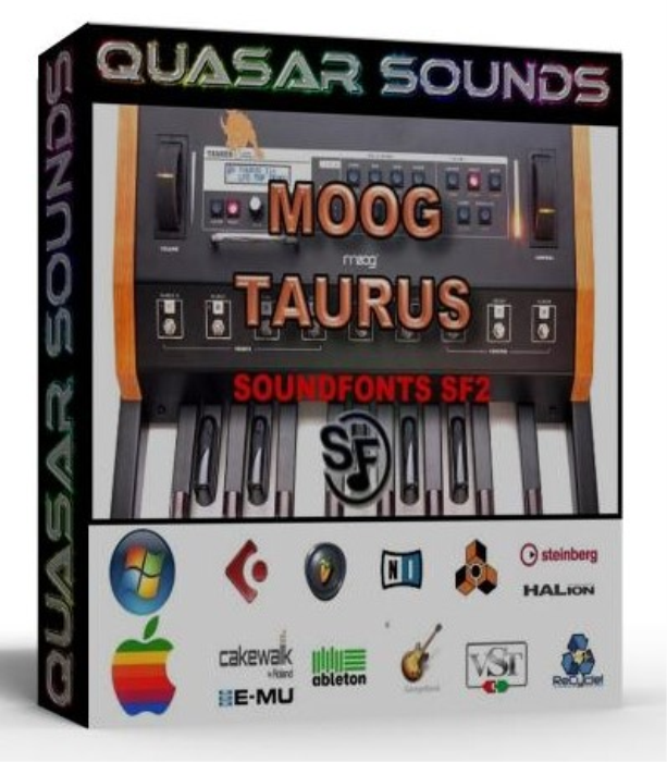First Additional product image for - Moog Taurus Samples Wave Kontakt Reason Logic Halion